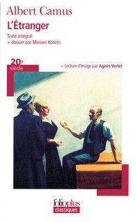 Couverture de L'étranger - Albert Camus - Meriam Korichi - éditions Gallimard
