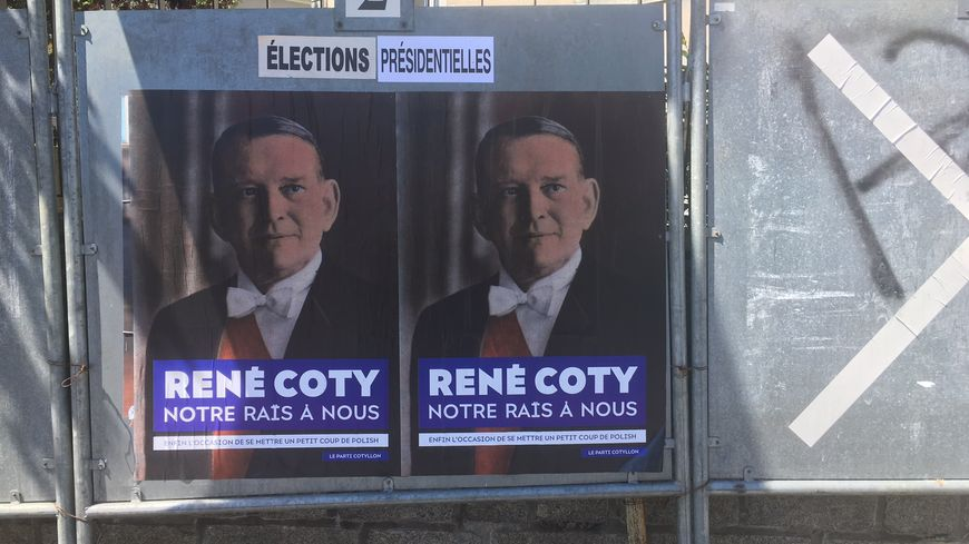Les affiches ont été placardées dans la nuit de lundi à mardi