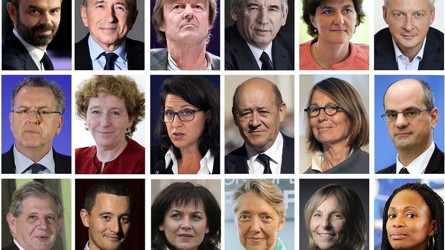 Le gouvernement, paritaire, est ouvert à la société civile, mais aussi aux personnalités de gauche, du centre et de droite.