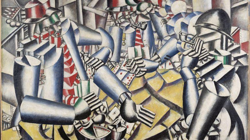 la partie de carte Fernand Léger, le beau est partout : La Partie de cartes