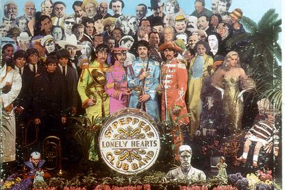 Sergent Pepper's Lonely Hearts Club Band (couverture de l'album)