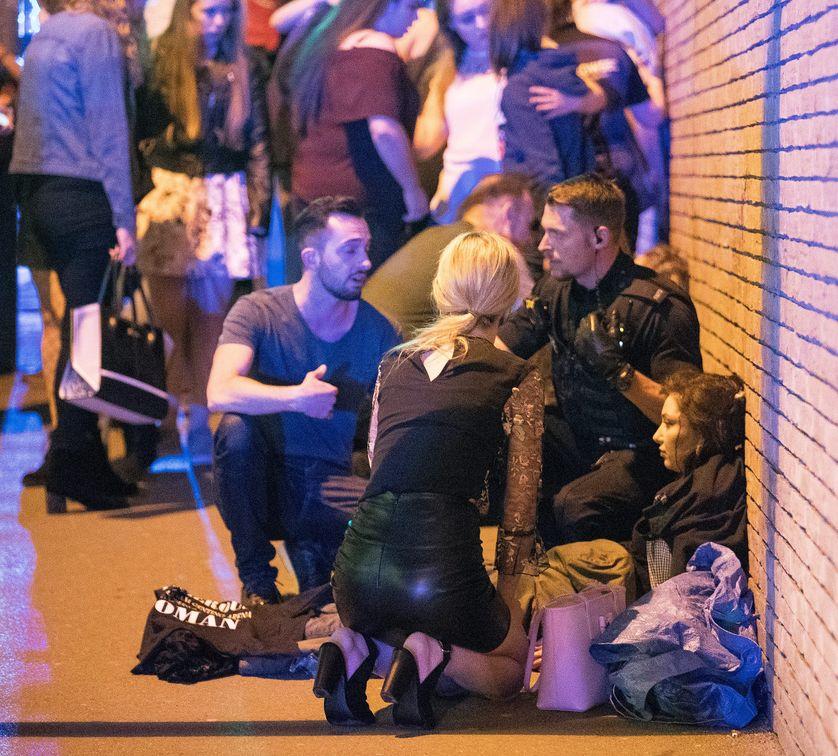 L'explosion s'est produite à la fin d'un concert d'Ariana Grande, au Manchester Arena