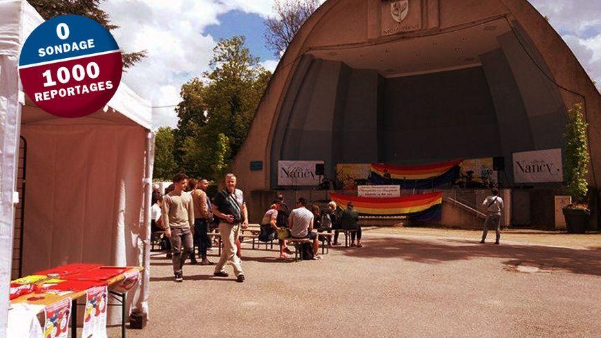 Le village associatif s'est tenu devant l'auditorium de la Pépinière ce dimanche, de 14 à 18h.