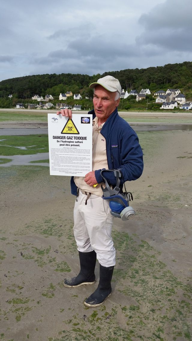 Yves-Marie Le Lay, président de l'association écologiste Sauvegarde du Trégor