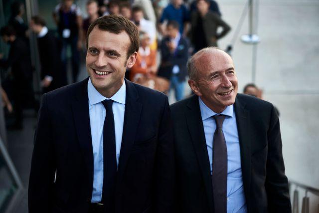 Gérard Collomb, ministre de l'Intérieur, a rallié très tôt En Marche !