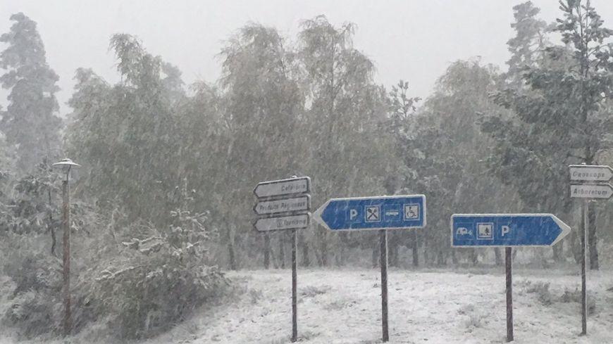 La neige est tombée en abondance en Lozère