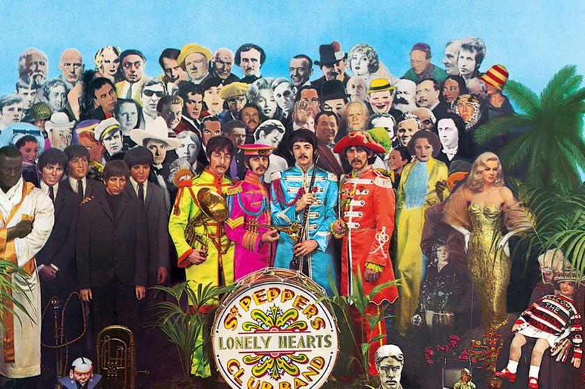 Sgt Pepper's Lonely Hearts Club Band, pochette de l'album