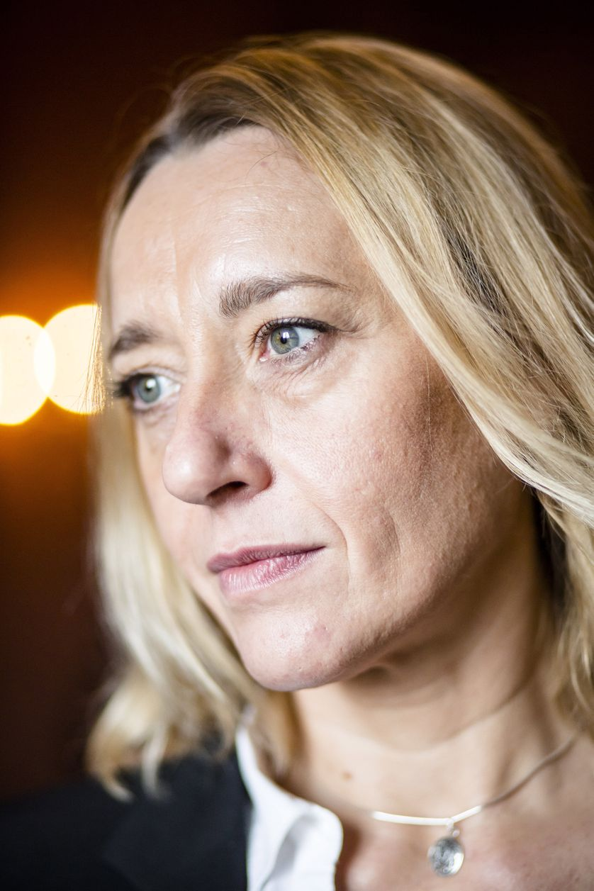 Virginie Despentes à Paris, le 4 novembre 2015