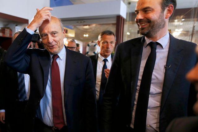 Edouard Philippe a toujours été fidèle à Alain Juppé