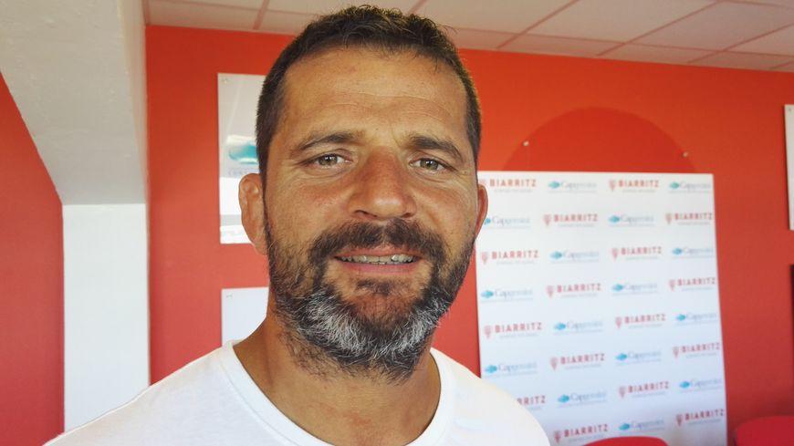 Frédéric Garcia, entraîneur des avants du Biarritz Olympique 2016-2017