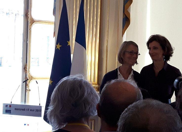 """""""Cela aurait pu continuer avec toi"""", a lancé la nouvelle ministre à Audrey Azoulay."""