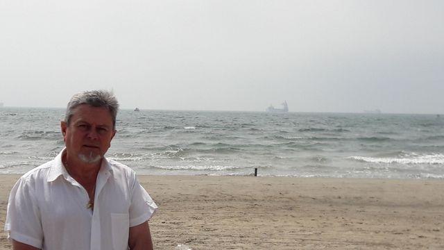 Daniel Moutet, président de l'association de défense du littoral du golfe de Fos