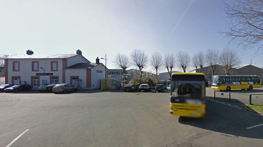 La gare routière de Machecoul