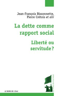 La dette comme rapport social