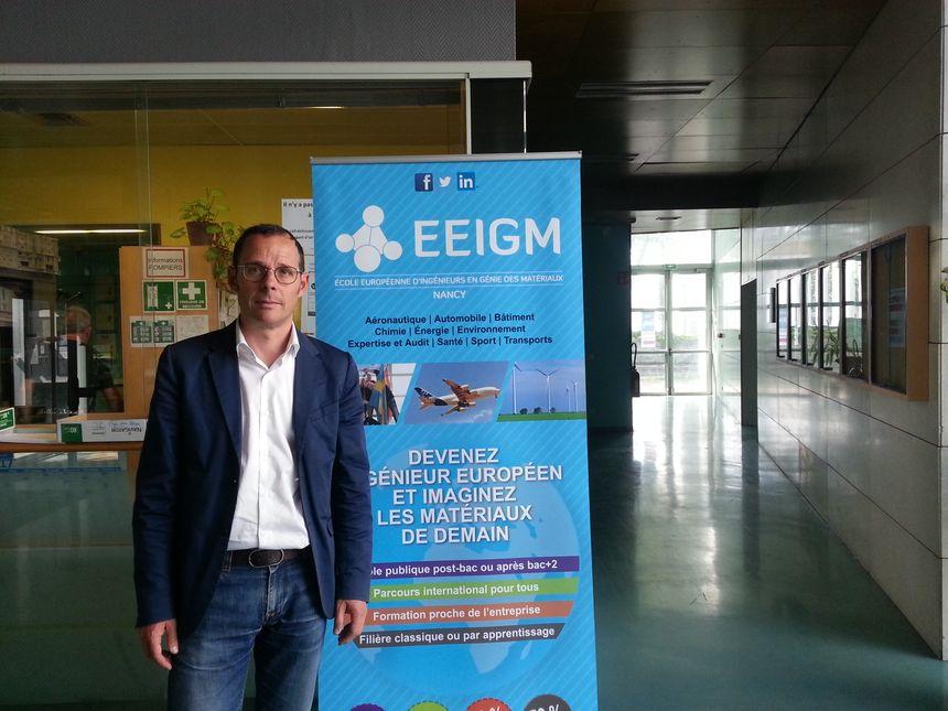 Lorenzo Diez, directeur de l'école d'architecture dans les locaux de l'EEIGM