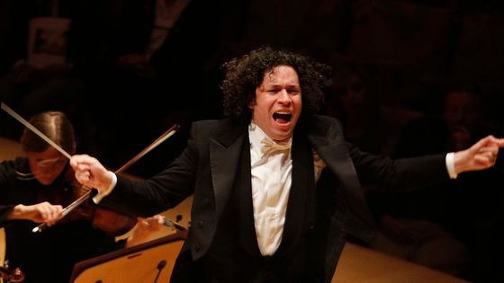 Conductor Gustavo Dudamel of the LA Philharmonic.