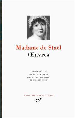 Madame de Staël Œuvres