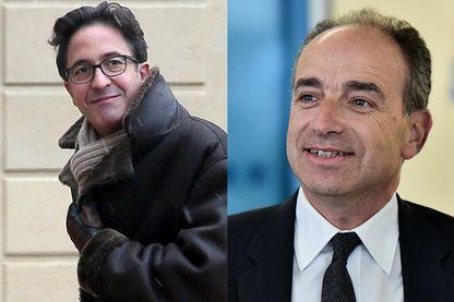 Aquilino Morelle et Jean-François Copé