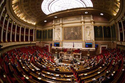 Hémicycle de l'Assemblée nationale française