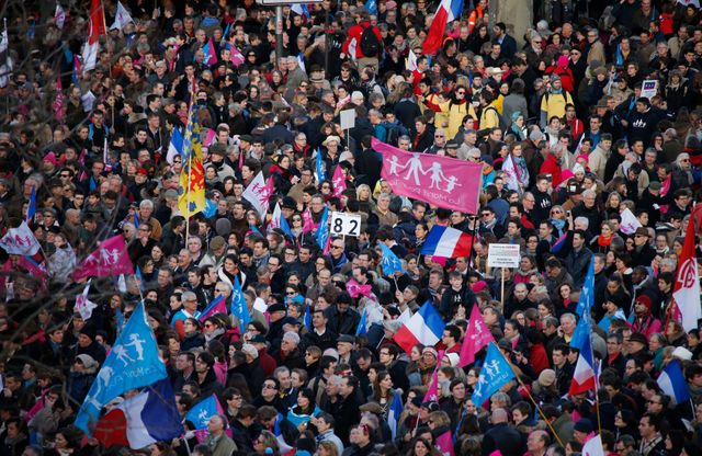 manif pour tous en février 2014