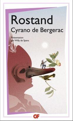 Couverture de Cyrano de Bergerac - Edmond Rostand - éditions Flammarion