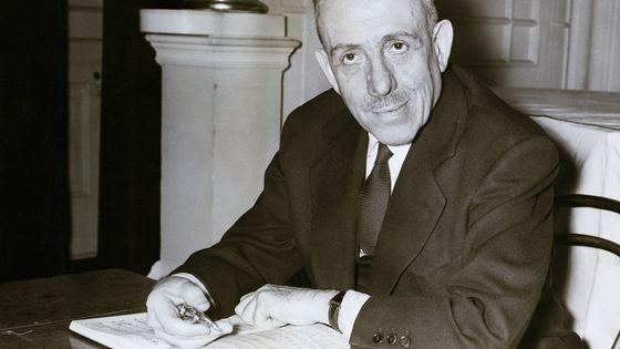 Francis Poulenc en 1958