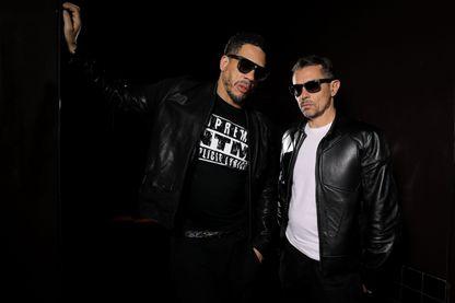 Suprême NTM, ou NTM, groupe de hip-hop et de rap français, composé des rappeurs JoeyStarr (Didier Morville) et Kool Shen (Bruno Lopes), revient sur scène avec deux concerts prévus à Bercy en mars 2018