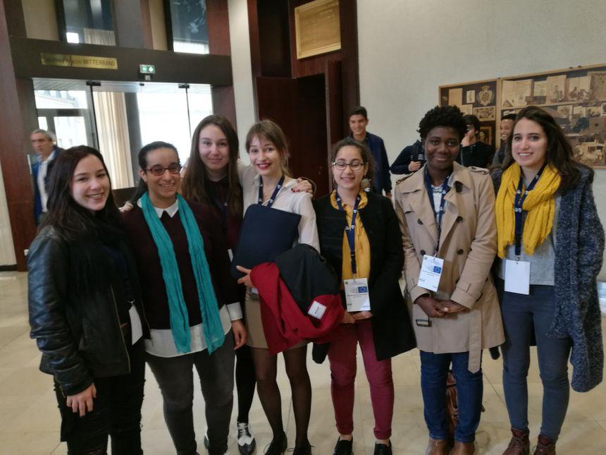 Quelques élèves du Lycée Stephen Liégeard de Brochon