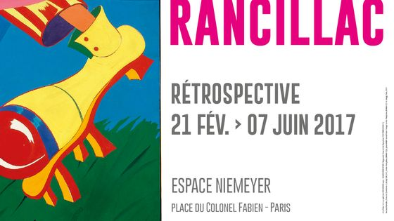 Affiche exposition Rancillac