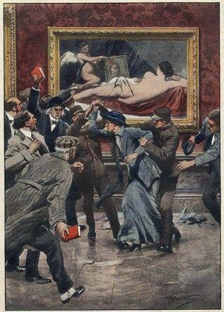 L' arrestation de Mary Richardson