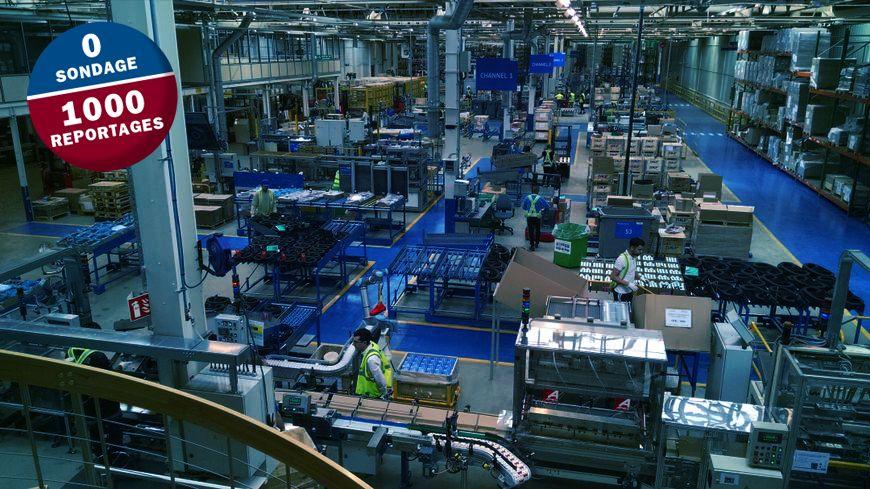 Le centre européen de kits de rechange automobile s'étale sur 10 000 m2 au coeur du site SKF de St-Cyr-sur-Loire