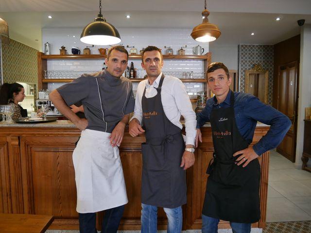 David, Jean-Pierre et Ludovic Mezzacqui