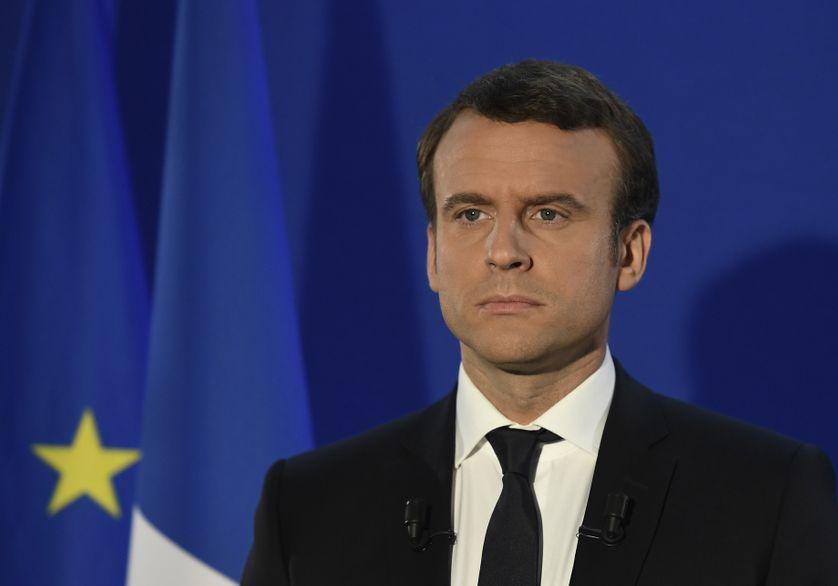 Emmanuel Macron, dimanche 7 mai 2017.