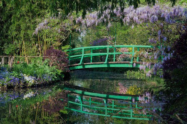 Le Jardin d'eau de la maison de Claude Monet à Giverny