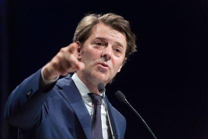 François Baroin, chef de file du parti Les Républicains en meeting à Jonage - 23 mai 2017