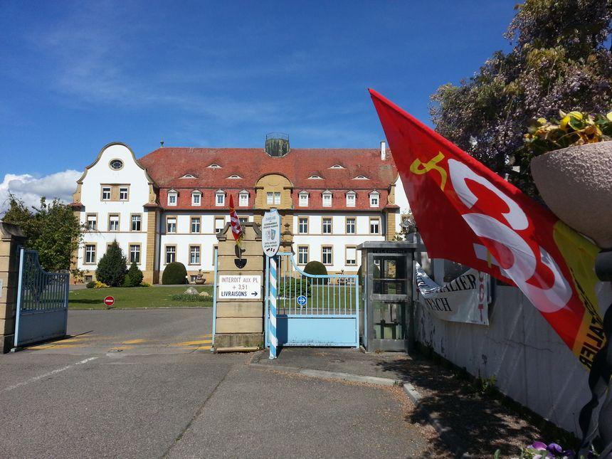 Une mobilisation devant l'hôpital psychiatrique de Rouffach