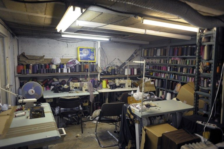 Un atelier clandestin de confection démantelé à Paris en 2009
