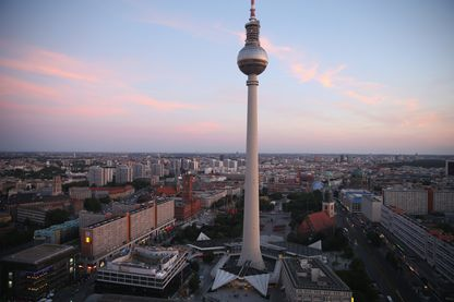Vue d'Alexanderplatz, Berlin