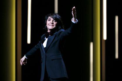 Florence Foresti à la  41ème edition des Cesar au Theatre du Chatelet à Paris - le 26 février 2016