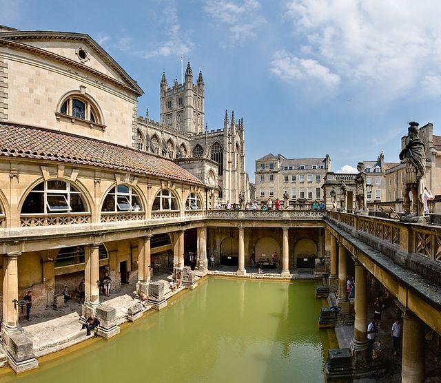 Les bains romains de Bath