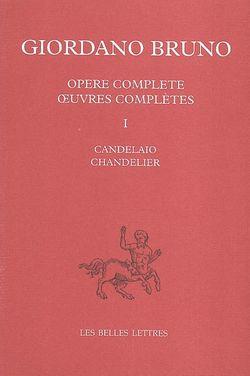 Œuvres complètes, Volume 1, Chandelier