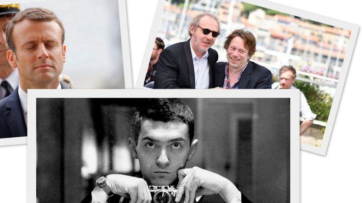 Emmanuel Macron, Arnaud Desplechin et Stanley Kubrick
