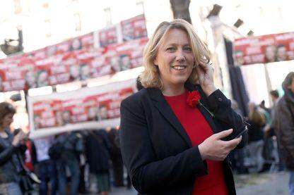 Danielle Simonnet, porte-parole de la France Insoumise.
