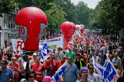 Manifestation contre la loi Travail en 2016