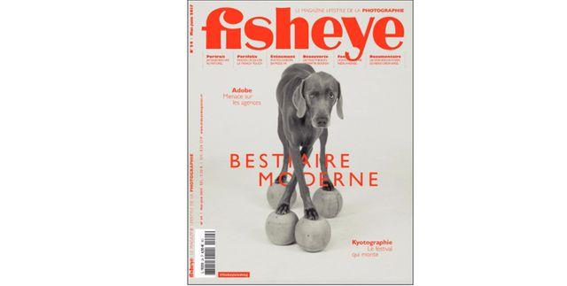Couverture du magazine Fisheye