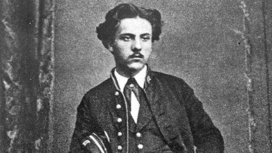 Gabriel Fauré, en 1880