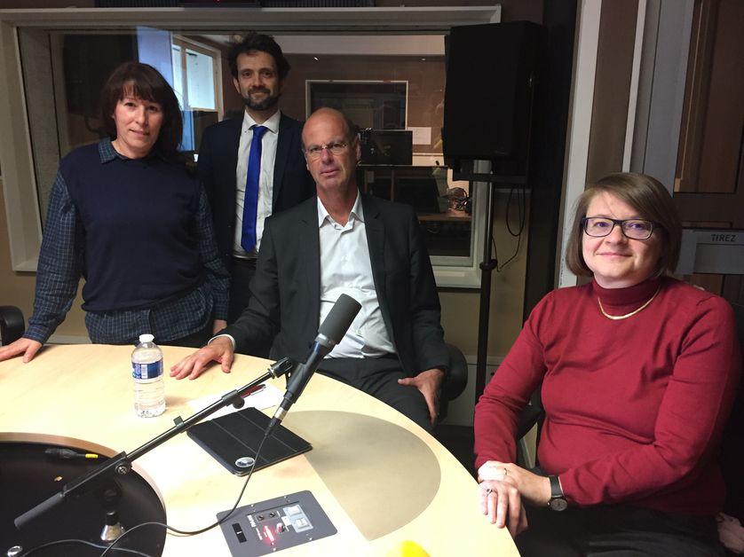 Fadela Amara, Christophe Bellon, Eric Lombard, Pauline Schnapper