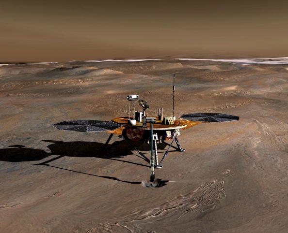 Quelque part sur Mars