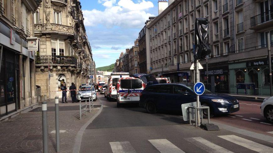 Le meurtre s'est produit dans le quartier de la rue de la République