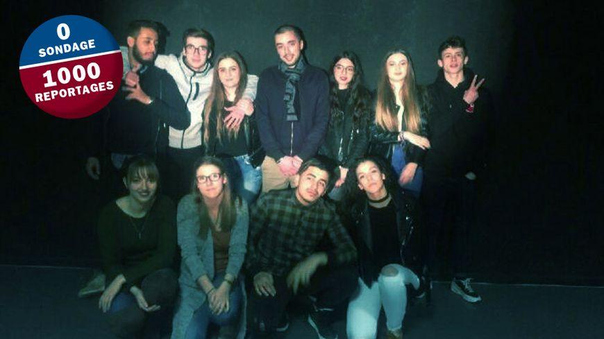 Les élèves de Bac pro commerce du lycée Saint Joseph à Belfort
